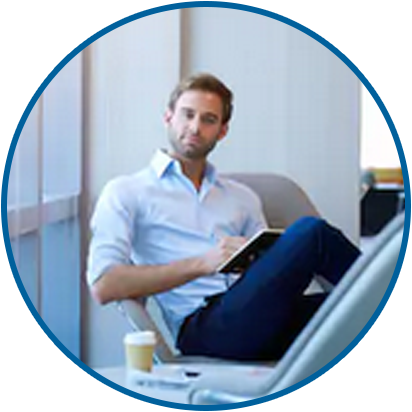 Testimonial Image Guy Sitting In Chair